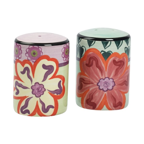 KD-T6412-EC-2 Piece Salt & Pepper Shaker Set by Kathy Davis