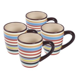 TMS-M6804-EC-Set Of Four 16oz Mugs by Tabletops Lifestyles