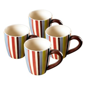 TMS-M6810-EC-Set of four 16 oz Mugs by Tabletops Lifestyles
