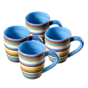 TMS-M6811-EC-Set of Four 16 oz Mugs by Tabletops Lifestyles