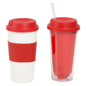 TTU-T6250-EC-16 ounce Fire and Ice mug & Travel Tumbler set by rove
