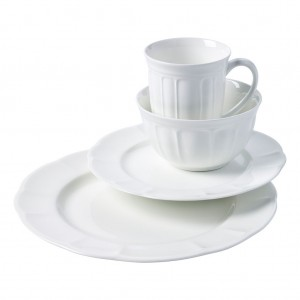TTU-Q9700-EC-16-piece Bone China Dinnerware Set by Studio TU