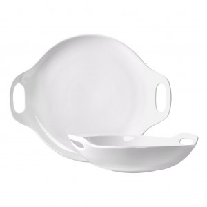 TTU-T4009-EC-Two Piece Bowl and Platter Set by Tabletops Gallery 1