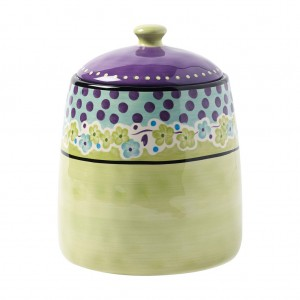 KD-T6510-EC-10 Inch Cookie Jar by Kathy Davis