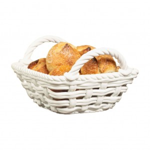 TTU-93945­EC-9 x 9 x 5.6 inch Bread Basket by Tabletops Gallery_2