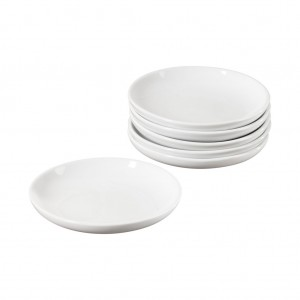 TTU-Q1207-EC-Set of Six 5 Inch Porcelain Dipping Dishes by Denmark Tools for Cooks