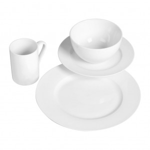 TTU-P7210-EC-16 Piece Porcelain Dinnerware set Tabletops Gallery