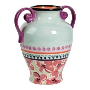 KD-T6413-EC-12.25 Inch Vase by Kathy Davis