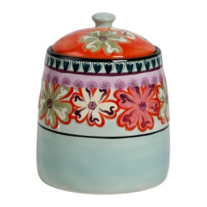 KD-T6410-EC-10 inch Cookie Jar by Kathy Davis