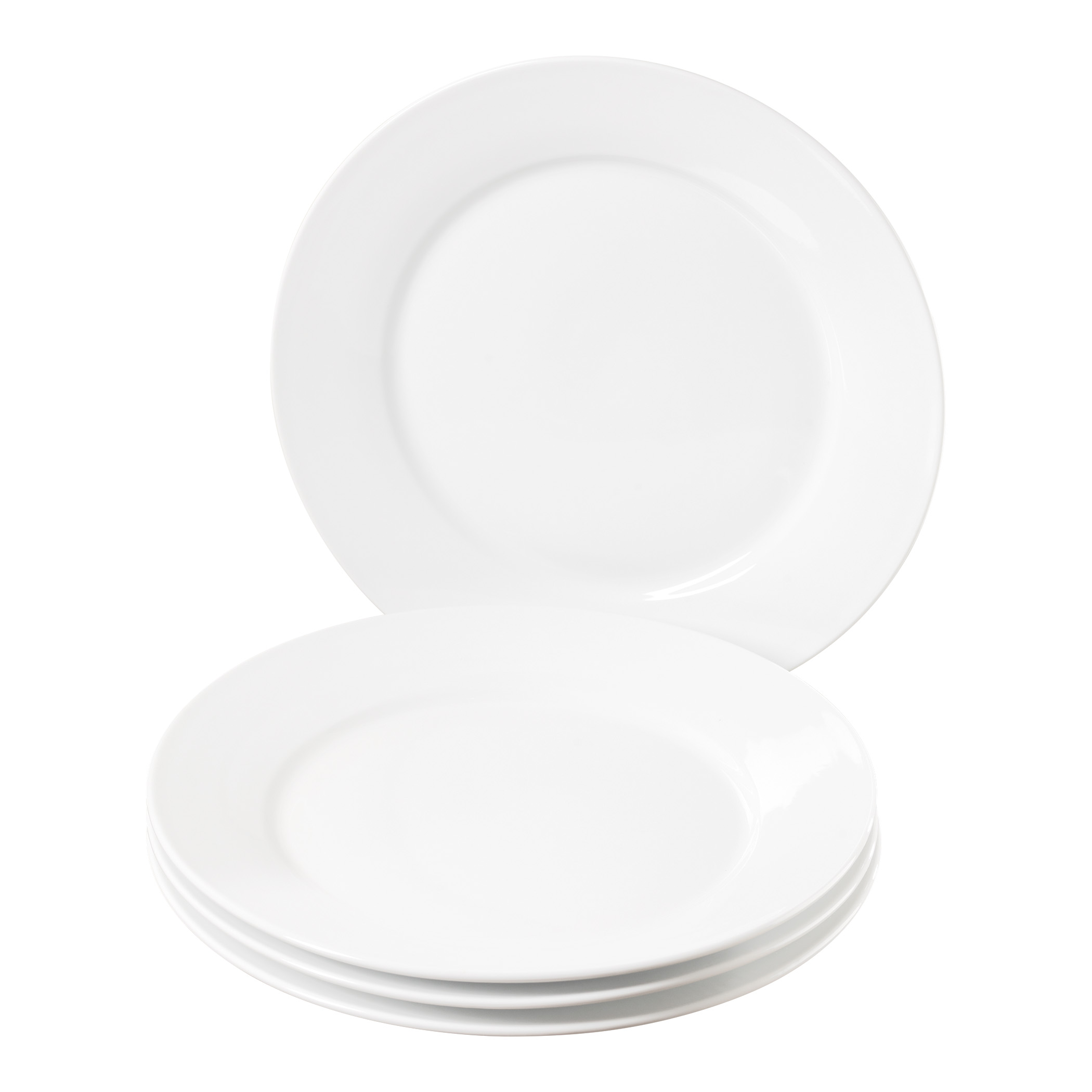 TTU-Q1201-EC-Set of Four 11 inch Porcelain Dinner Plates by Denmark  sc 1 st  Tabletops Unlimited & Set of Four 11 Inch Round Porcelain Dinner Plates by Denmark Tools ...