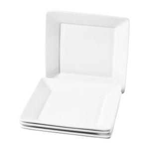 TTU-Q1211-EC-Set of Four 10.5 Inch Porcelain Dinner Plates by Denmark Tools for Cooks