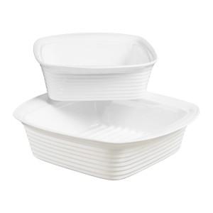 TTU-Q1530-EC-Set of Two Porcelain Bakers by Denmark Tools For Cooks