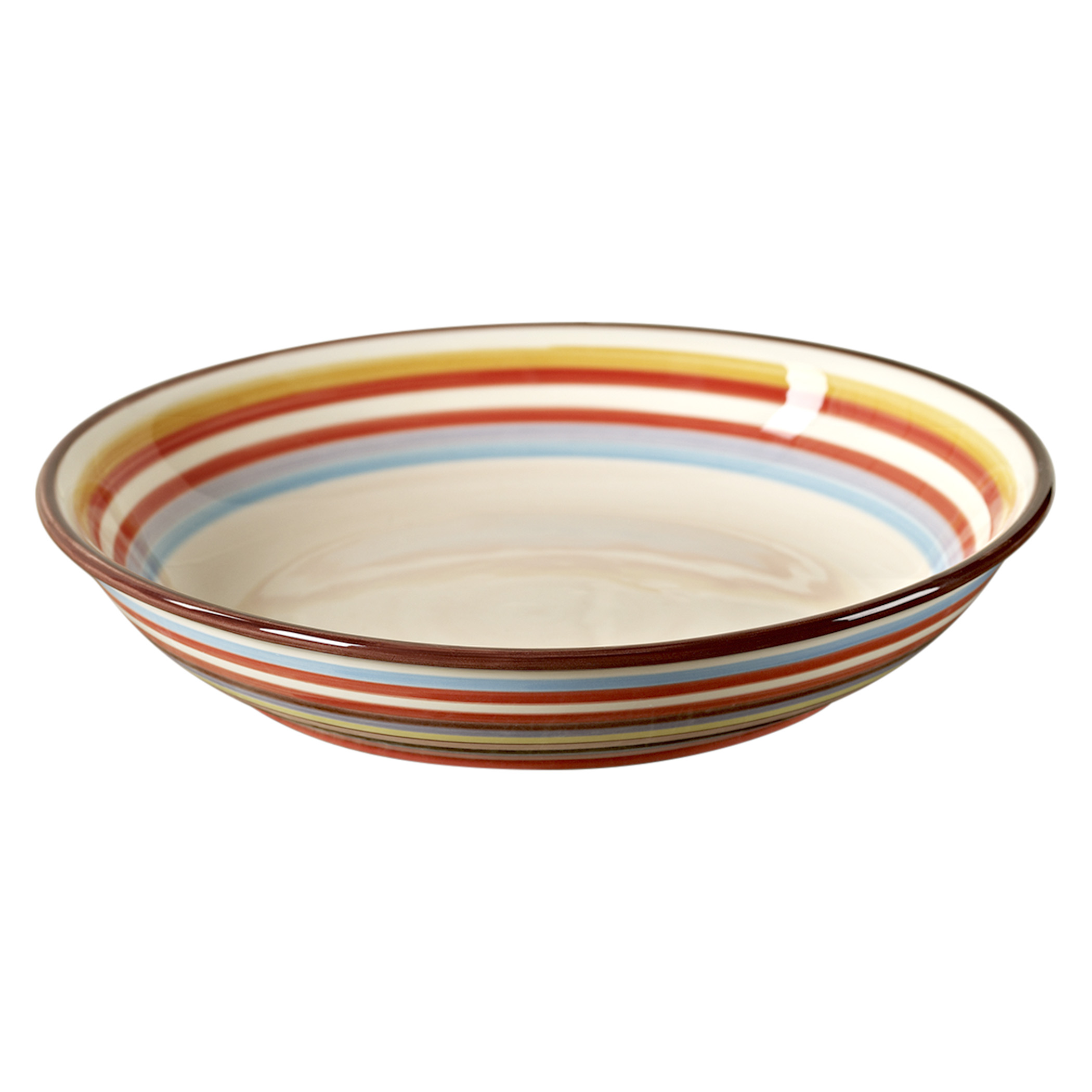 TMS-M6840-EC- 13.25 Inch Serving Bowl by Tabletops Lifesyles  sc 1 st  Tabletops Unlimited & Sedona 13 1/4 Inch Ceramic Serving Bowl by Tabletops Lifesyles ...