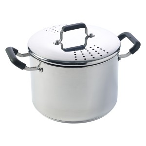TTU-Q2133-EC-8 Quart Stainless Steel Straining Pot by Denmark Tools For Cooks