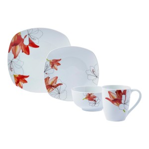 TTU-T4260-EC-16 Piece Porcelain Dinnerware Set by Tabletops Gallery