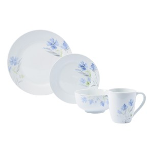 TTU-83700-EC-16 Piece Porcelain Dinnerware Set by Tabletops Gallery