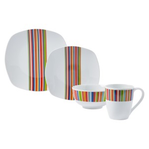TTU-T4270-EC-16 Piece Porcelain Dinnerware Set by Tabletops Gallery