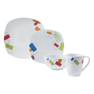 TTU-T4250-EC-16 Piece ttu® Dinnerware Set by Tabletops Gallery