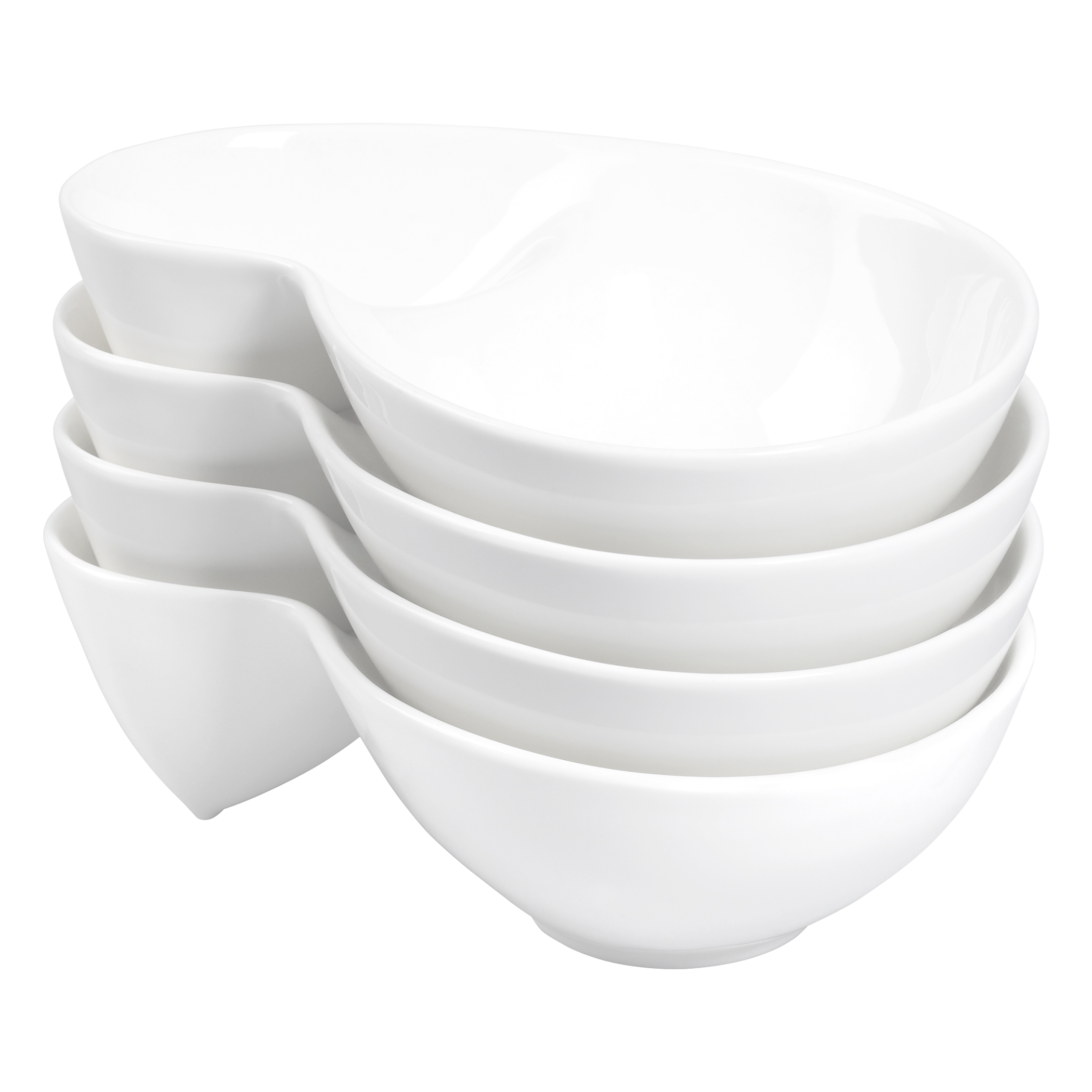 TTU-T1323-EC-Oven to Table Set of Four Vitrified Porcelain Chip Œn¹  sc 1 st  Tabletops Unlimited & Oven to Table Set of Four Vitrified Porcelain Chip \u0027n\u0027 Dip Bowls by ...