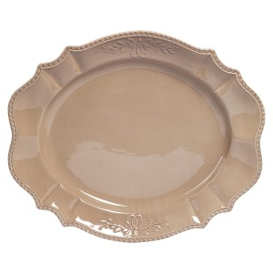TTU-U1939-EC-21 Inch Ceramic Serving Platter by Tabletops Gallery