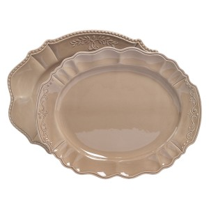 TTU-U1923-EC-2 Piece Ceramic Serving Platters by Tabletops Gallery