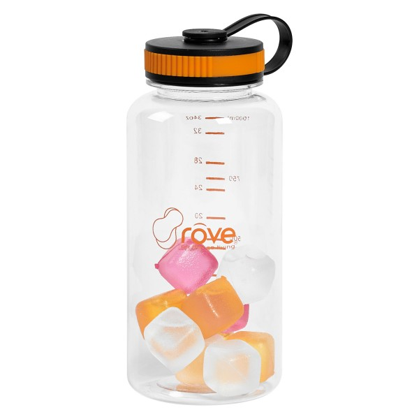 TTU-U1015-EC-38-ounce-Tritan-Hydration-Bottle-with-10-Ice-Cubes-by-rove