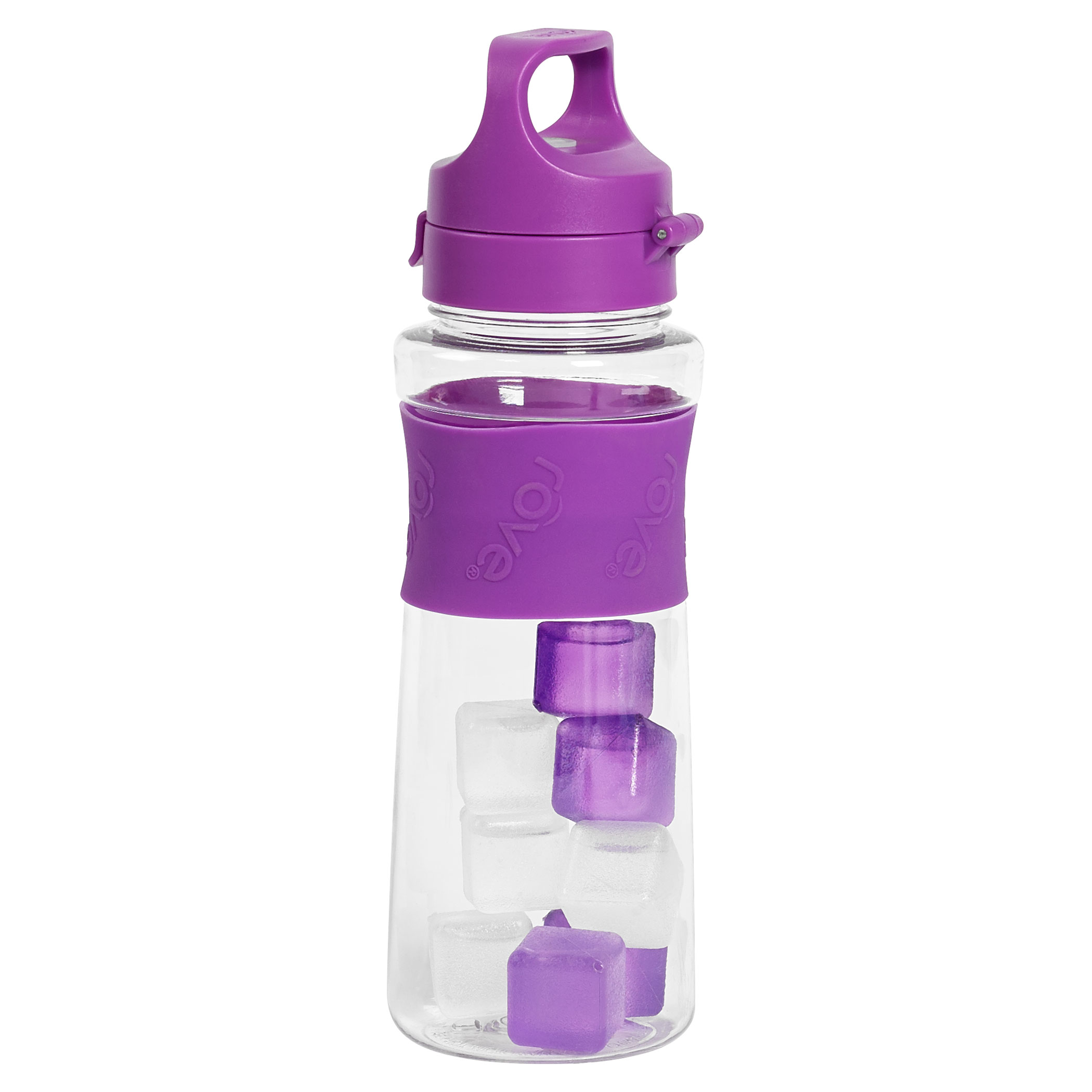 ... ™ Hydration Bottle with 8 Ice Cubes by rove® | Tabletops Unlimited: https://www.ttustore.com/product/24-ounce-tritan-hydration-bottle-8...