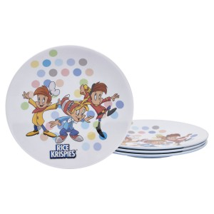 KLG-U2142-EC-Set-of-Four-Rice-Krispies®-8.625-inch-Melamine-Salad-Plates-by-Kellogg¹s