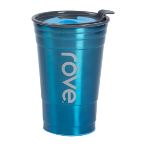 TTU-U4251-EC 20 Ounce Stainless SteelPolypropylene Double Wall Hot & Cold Drink Party Cup by rove