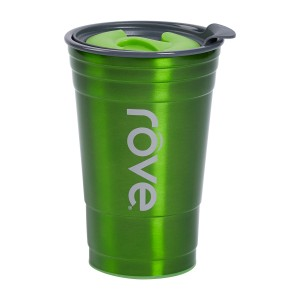 TTU-U4253-EC 20 Ounce Stainless SteelPolypropylene Double Wall Hot & Cold Drink Party Cup by rove