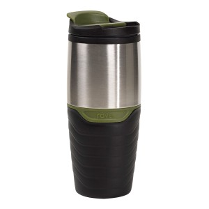 TTU-T6267-EC 16 Ounce Double Wall Stainless SteelPolypropylene Travel Mug by rove