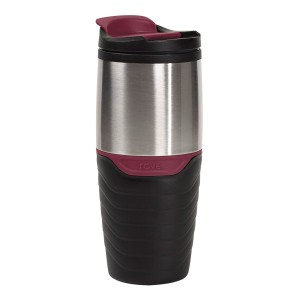 TTU-U4823-EC 16 Ounce Double Wall Stainless SteelPolypropylene Travel Mug by rove