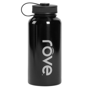 TTU-U4281-EC 40 Ounce Stainless Steel Cold Drink Hydration Bottle by rove®