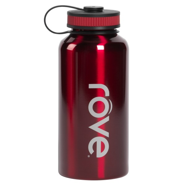 TTU-U4282-EC 40 Ounce Stainless Steel Cold Drink Hydration Bottle by rove®