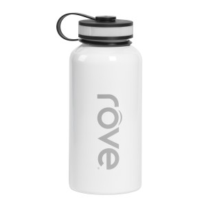 TTU-U4840-EC 40 Ounce Stainless Steel Cold Drink Hydration Bottle by rove®
