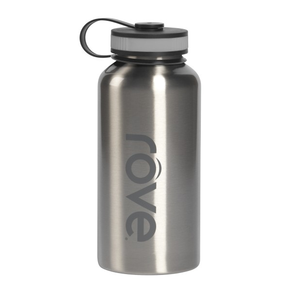 TTU-U6166-EC 40 Ounce Stainless Steel Cold Drink Hydration Bottle by rove®