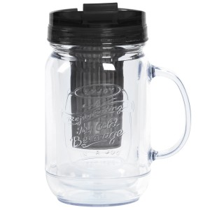 TTU-U4292-EC 18 Ounce Double Wall Flavor InfuserHot & Cold Hydration Mug by rove®