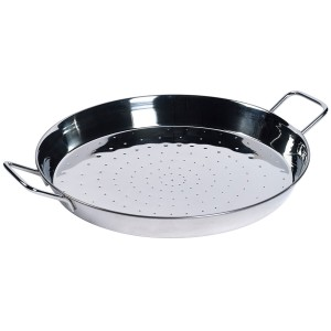 TTU-Q4781-EC 16 inch Stainless Steel Paella Pan by Denmark Tools For Cooks®