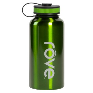TTU-U6168-EC 40 Ounce Stainless Steel Cold Drink Hydration Bottle by rove®