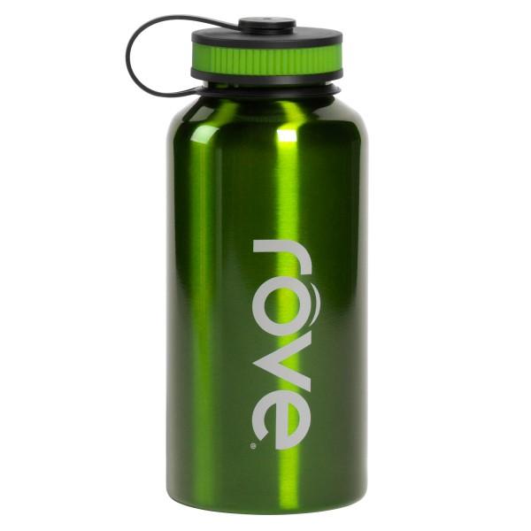 TTU-U6168-EC 40 Ounce Stainless Steel Cold Drink Hydration Bottle by rove®