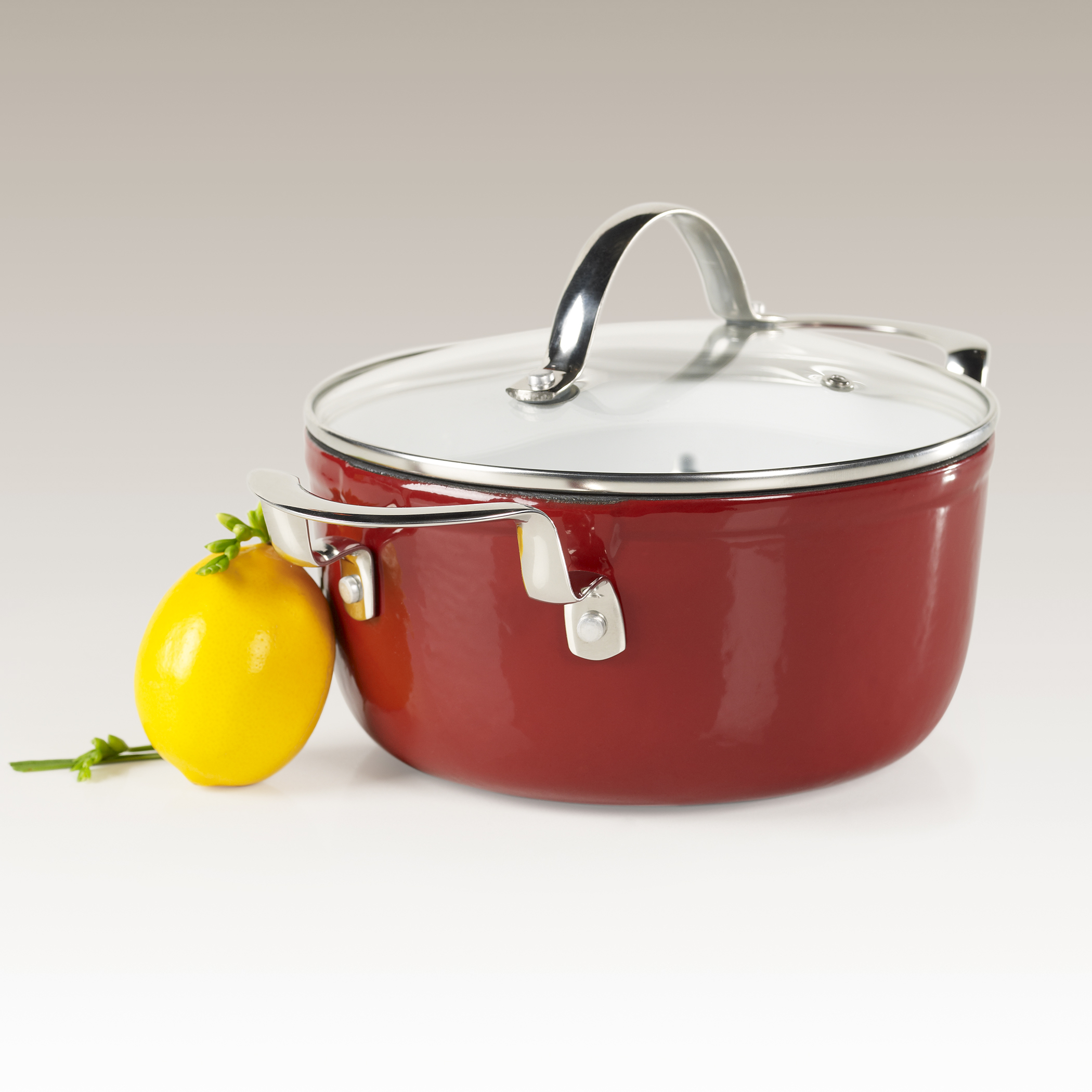 3 Quart Enamel Cast Iron Casserole by Philippe Richard