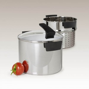 8 Quart Stainless Steel Pasta Cooker by Philippe Richard